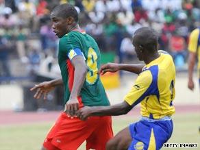 Cameroon striker Samuel Eto'o.