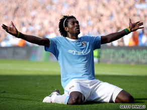 Emmanuel Adebayor may face further action after his ill-advised goal celebrations against Arsenal.