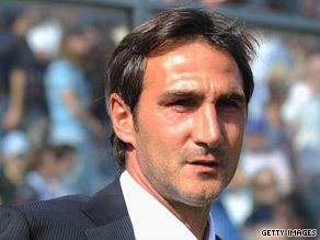 Angelo Gregucci has paid the price for Atalanta's poor start to the Italian Serie A season.