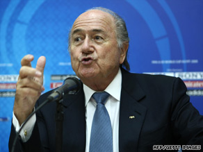 FIFA president Sepp Blatter has hit out at Europe's top clubs for not releasing players for the U-20 World Cup.