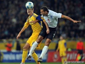 Yaroslav Rakytskyy and Rio Ferdinand
