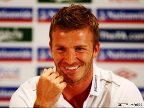 Beckham is desperate to extend his England career until the 2010 World Cup finals.