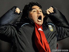Argentina coach Maradona could face a five-match ban after reportedly giving an obscene TV interview.