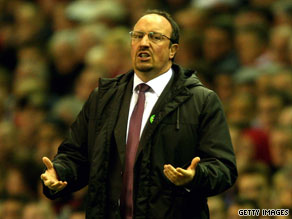 Manager Rafael Benitez signed a lucrative new long-term contract with Liverpool in March.