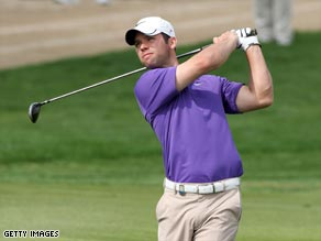 Casey is on course for a second Abu Dhabi victory in three years after a third round 63 on Saturday.