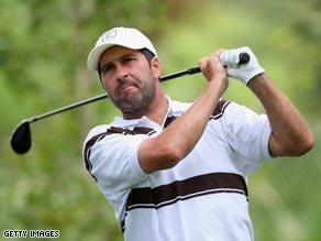 Olazabal has thrown his hat into the ring to be named captain of the 2010 European Ryder Cup team.