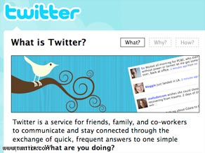 The microblog site Twitter was hit with phishing scams and hacker attacks during the last three days.