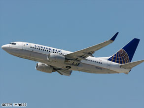 Continental Airlines is the third commercial carrier to test biofuels in their planes.