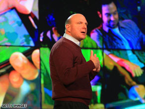 Microsoft CEO Steve Ballmer says Windows 7 will make PCs easier to use.