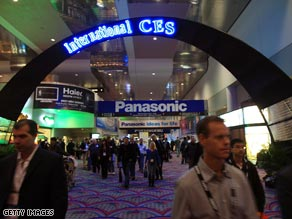 About 110,000 people came to the Consumer Electronics Show, an almost 22 percent drop from last year.
