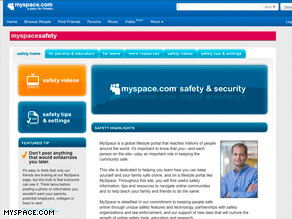 MySpace.com's chief security officer said in 2007 that the site has &quot;zero tolerance for sexual predators.&quot;