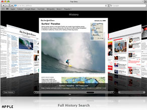 The new beta version of the Safari 4 browser is available for download at Apple's Safari Web page.
