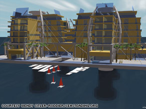 The Seasteading Institute has drawn up plans for a floating city off the coast of San Francisco.