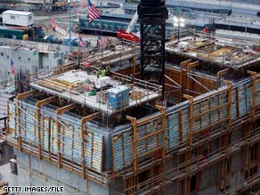 Freedom Tower, on the former World Trade Center site, is being built with fly ash-enhanced concrete.