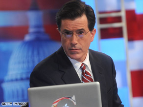 Comedian Steven Colbert's name could go on a new wing of the International Space Station.