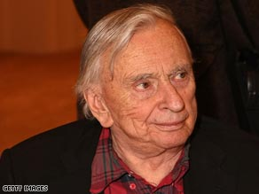 American novelist Gore Vidal has long been known as a liberal intellectual.