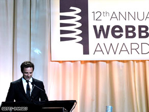 """Saturday Night Live's"" Seth Meyers hosted last year's Webby Awards and will do so again June 8."