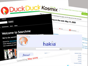 Google dominates the search world, but some sites are trying to expand the possibilities.