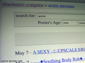 Craigslist says it has removed prostitution ads, but some issues remain.