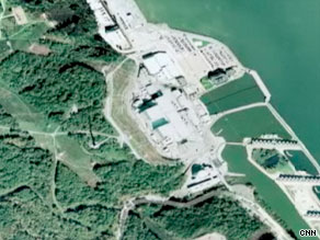 Critics fear that online aerial images of nuclear power plants in the U.S., like this one, could aid terrorists.