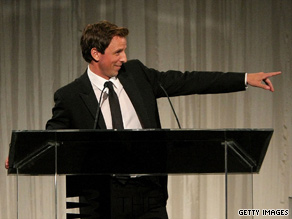"Seth Meyers of NBC's ""Saturday Night Live"" hosts the 13th annual Webby Awards on Monday night in New York."