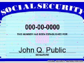 Publicly available data can be used to determine someone's Social Security number, a new report says.