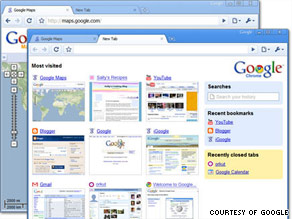 Google's operating system will augment its Web browser, which is also called Chrome.