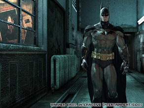 With its Gothic look and forbidding atmosphere, Arkham Asylum is almost a character in the game.