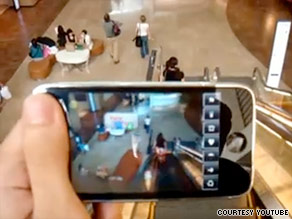 Layar is an augmented reality browser that can find info on nearby apartments via live mobile-phone video.