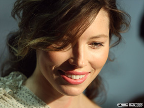 "Actress Jessica Biel tops a list of the ""most dangerous"" celebrity searches online."