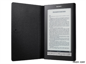 Sony's newest e-book will add wireless 3G connectivity and a 7-inch touchscreen.