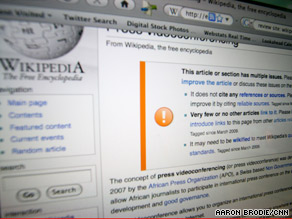 User-generated content sites like Wikipedia appear to be evolving. Some experts say they need more rules.