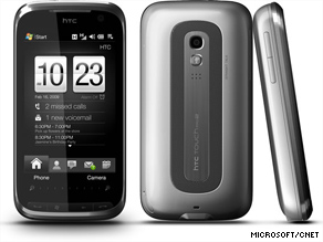 HTC's Touch Pro2 is among the new phones expected to ship with Windows Mobile 6.5.
