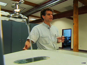 Dean Kamen hopes to tackle the world's fresh water shortage with the Slingshot, a water purifying device.