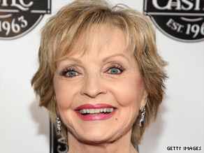 """Brady Bunch"" actress Florence Henderson founded a service to help older adults learn about computers."