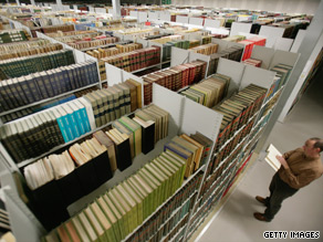 "A way with words: new digital library ""frees the EU tied to paper,"" said Leonard Orban."
