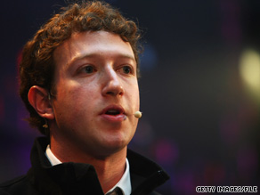 Facebook CEO Mark Zuckerberg speaks at the Digital Life Design conference in Munich, Germany.