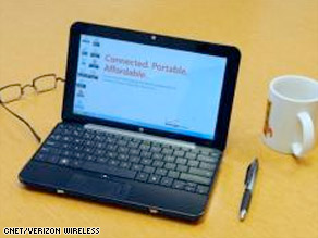 Verizon Netbook users can expect to spend $1,160 to $1,640 for service and the price of the Netbook.
