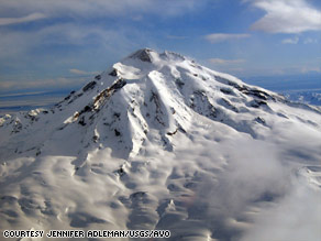 The U.S. Geological Survey says Alaska's Mount Redoubt has started erupting.