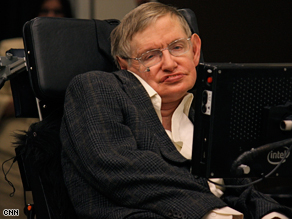 Stephen Hawking in Pasadena, California, in March.