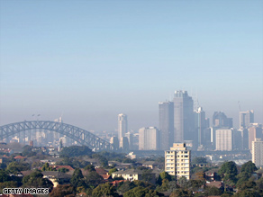 Smoggy skies, green leaves: Pollution has helped plant growth, according to a new study.