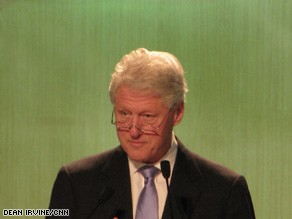 Bill Clinton to urban leaders in Seoul: What will you do about climate change?