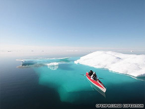 The crew has negotiated some stunning and treacherous waters to sail the Northwest Passage.