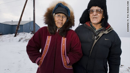 Climate change threatens Alaska village
