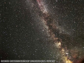 This image shows part of the Milky Way region of the sky where the Kepler spacecraft will be pointing.