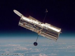 Space shuttle Atlantis launches Monday from Florida on its way to service the Hubble telescope.