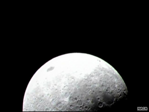Drawing depicts the Lunar Reconnaissance Orbiter, which will look for potential landing sites on moon.
