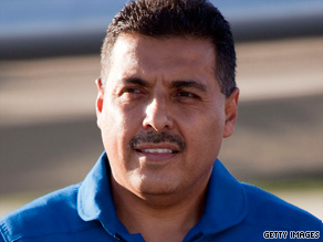 Astronaut Jose Hernandez is an American-born son of immigrants from Michoacan, Mexico.