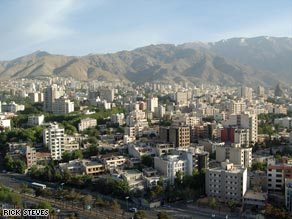 Tehran is a mile-high home to 14 million people.