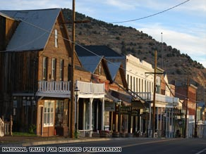 Virginia City, Nevada, is steeped in gold and silver rush history.